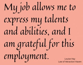 Louise Hay Affirmations - Career